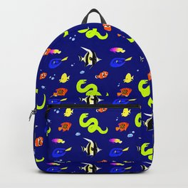 Sleeping with the fishes Backpack