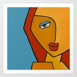 queen fatma Art Print