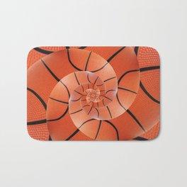 Droste Basketball Spiral  Bath Mat