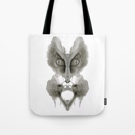 Rorschach Cat Tote Bag