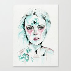 Woman v. Canvas Print