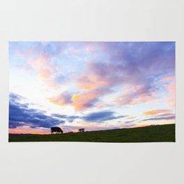 Sonoma County Sunset Rug