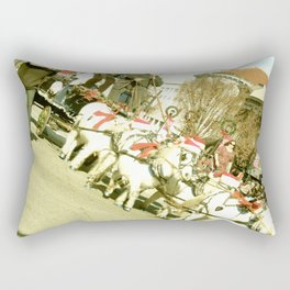 Miniature Horses Rectangular Pillow