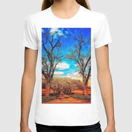 Cherry Blossom Pathway T-shirt
