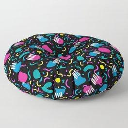 80's Party Floor Pillow