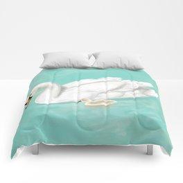 Mother Swan Comforters