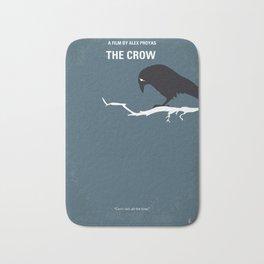 No488 My The Crow minimal movie poster Bath Mat