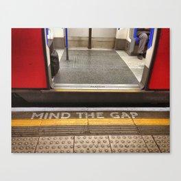 Mind The Gap Canvas Print