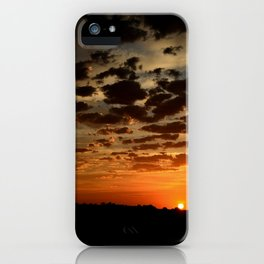 Ending of the Day iPhone Case