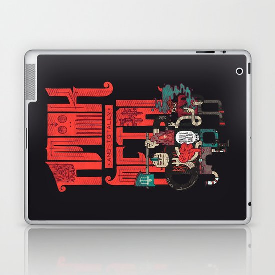 Amok And Totally Metal Laptop & iPad Skin