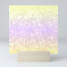 Pastel Ombre 3 Mini Art Print
