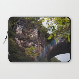Looking up to the Natural Bridge, VA Laptop Sleeve
