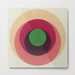 Minimalist and geometric composition Metal Print