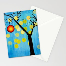 Modern Tree Stationery Cards