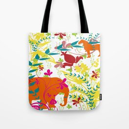 Jungle Pattern Tote Bag