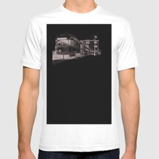 Red Hook Mens Fitted Tee White SMALL