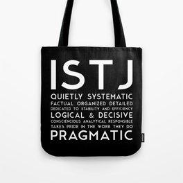ISTJ (black version) Tote Bag