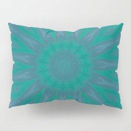 Aurora Kaleidescope With Flower Petal Design Pillow Sham