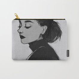 Audrey Hepburn - Portrait Carry-All Pouch