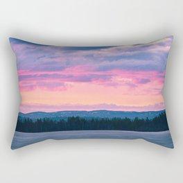 Arctic lights Rectangular Pillow