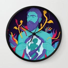 Freedom - Men Wall Clock