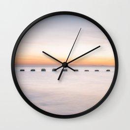 Dusk Sea Wall Clock