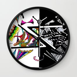 Greater Than or Less Than Wall Clock