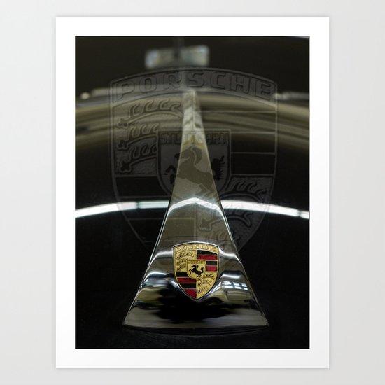 Porsche 356 Art Print
