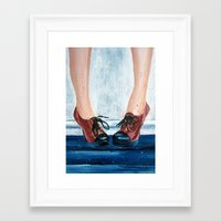 heels Framed Art Prints featuring Heels by MardyArts