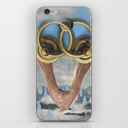 beach sex only works in movies iPhone Skin