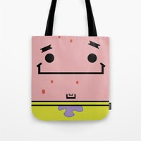 patrick Tote Bags featuring Patrick by nu boniglio