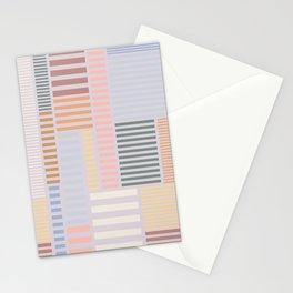 Modern Skyline Stripe Stationery Cards