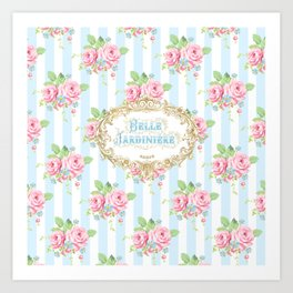 Belle Jardiniere Art Print
