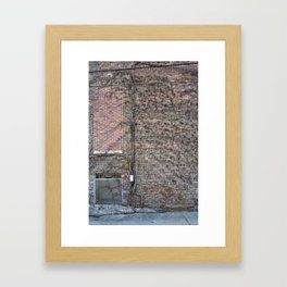 resistance is a bad idea Framed Art Print