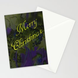 Merry Christmas greeting Stationery Cards