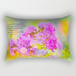Serenity Prayer - II Rectangular Pillow