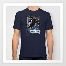 Ravenclaw team flag emblem iPhone 4 4s 5 5c, ipod, ipad, pillow case, tshirt and mugs Art Print