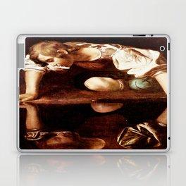 Michelangelo Merisi da Caravaggio, Narcissus at the Source, oil on canvas, 1597-99 Laptop & iPad Skin