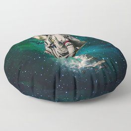 Space Ride Floor Pillow