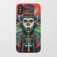 Baron Samedi iPhone X Slim Case