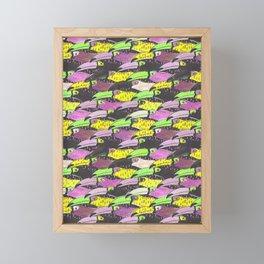 Flight of the Toucans Framed Mini Art Print