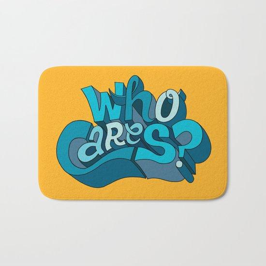 Who Cares? Bath Mat