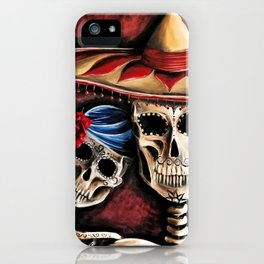 The day of the Dead iPhone Case