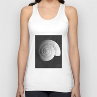ghost in the shell Tank Tops featuring Shell by Studio Art Prints