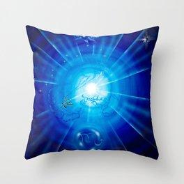 Zodiac sign Skorpio 2 Throw Pillow