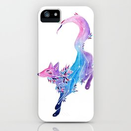 The Leaping Fox Constellation iPhone Case