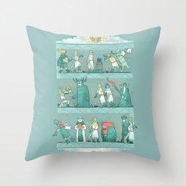 Tapisserie de Arrrgggh Throw Pillow