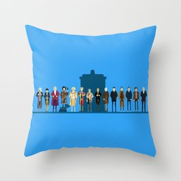 THE DOCTORS WILL SEE YOU NOW Throw Pillow