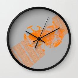Explorer Orange and Grey Wall Clock