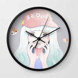 Zazi-White Wall Clock